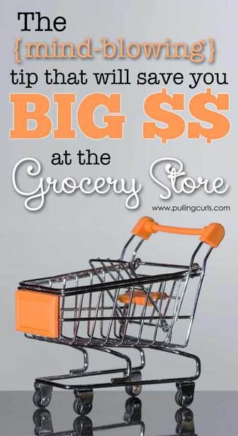 Save at the grocery store - Money saving tips - Money saving ideas for your family to save! via @pullingcurls