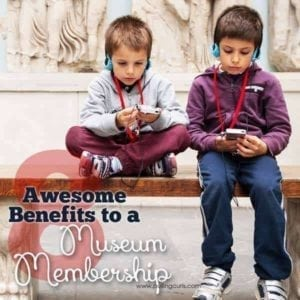 Buying a museum membership can be a great way to SAVE money on fun family activities!