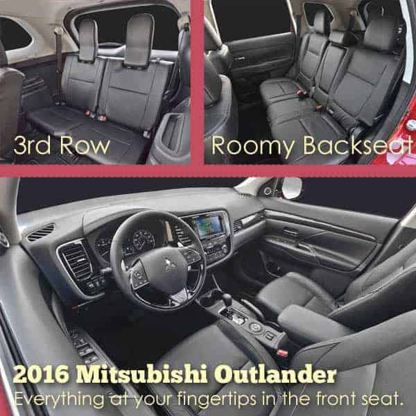 2016 Mitsubishi Outlander, tested by Hilary from Pulling Curls