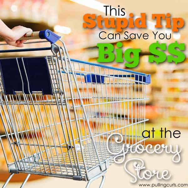 This crazy stupid tip could save you big time at the grocery store!