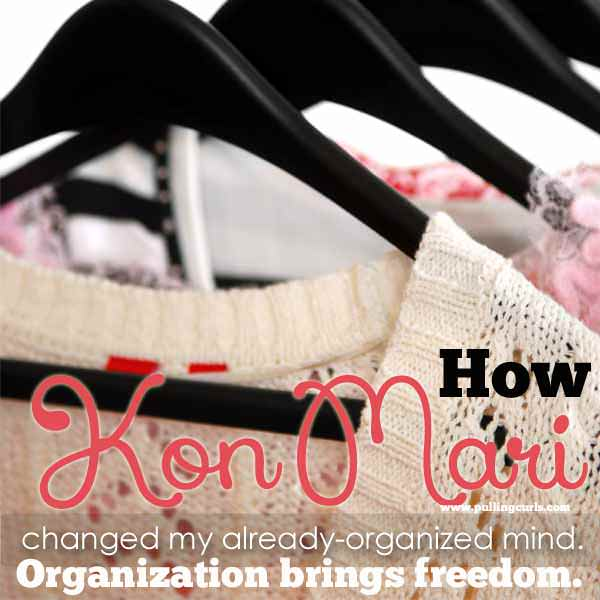 The KonMari method of organizing awakened something in this regularly organized person. That it was about joy more than anything else. Here's how it changed my organizing.