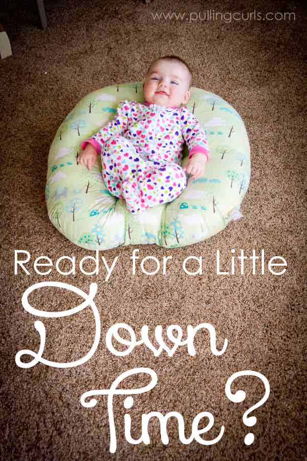 Ready for a little downtime from your baby? Check out this new Boppy Lounger that lets them explore the world on their own with a new viewpoint! via @pullingcurls
