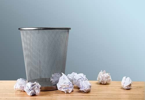 Three things to help you declutter your home - Basketball waste paper basket ...