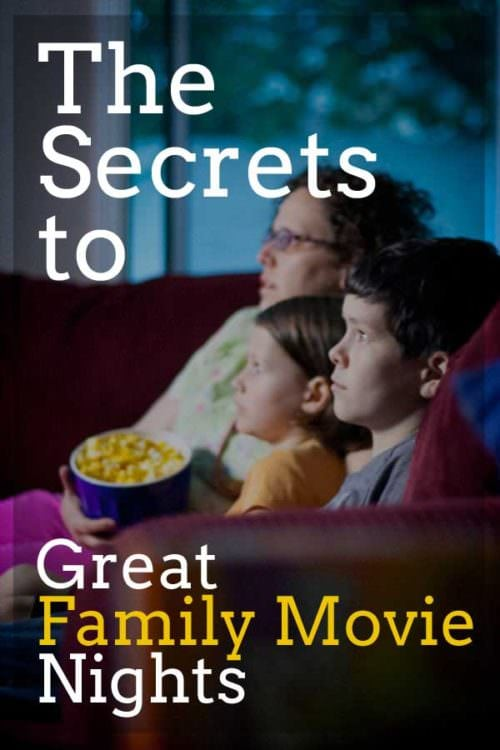 These secrets to a family movie night will have your family enjoying the small screen just as much as the big one!