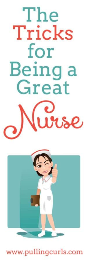 Every nurse has lots of tricks that make them great. Here's 3 of mine and it might inspire you to think of the tricks that help you love YOUR job.