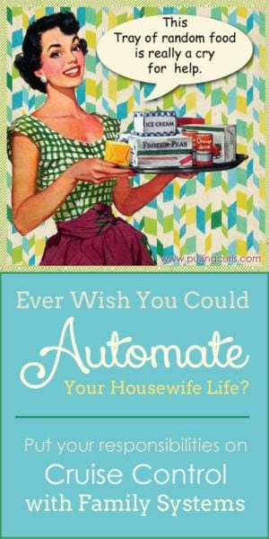 So many responsibilities and so many balls to keep in the air. Learn how to juggle your housewife life a little smoother.