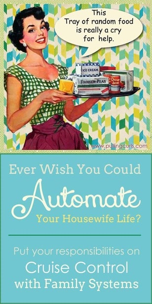 So many responsibilities and so many balls to keep in the air. Learn how to juggle your housewife life a little smoother. via @pullingcurls
