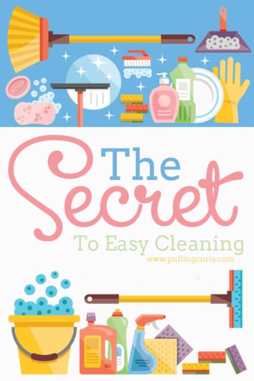 There is ONE thing that can make for an easy clean. It's 100% easier to get done and get on your way. I know you want to know it....