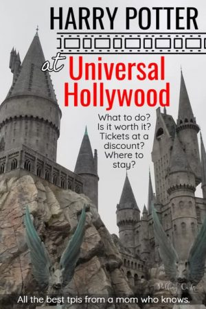 Harry Potter at Universal Hollywood