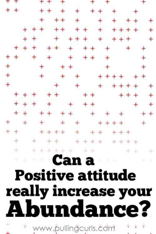 Can your attitude REALLY make a difference in your checkbook bottom line? I say it can, and this month I have proof!