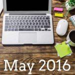 May 2016 Blogging Income Report & E-Course Sales Tactics