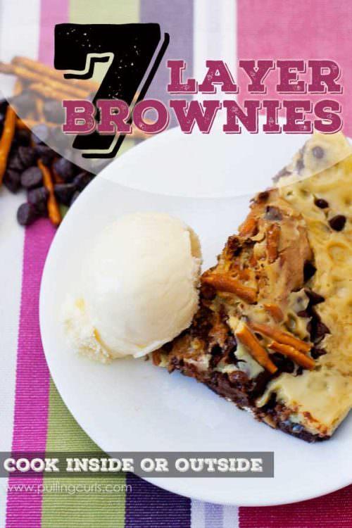 7 layer brownies