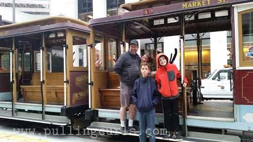 SF Cable Cars using the CityPASS