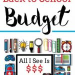 The Back to School Budget