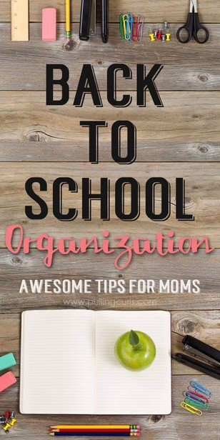 Ready to get on top of the new school year? Check out this post that will have all the papers, school supplies and new schedules all tamed with these totally useable tips! via @pullingcurls