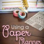 How to Use a Paper Planner in Conjunction with Your Phone