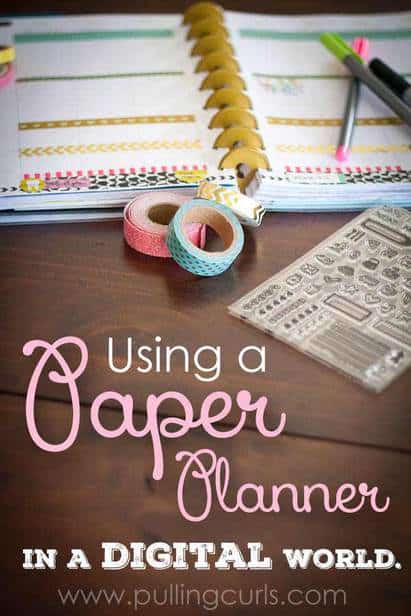 Paper planner | Ideas | happy planner | Erin Condren | Washi Tape | Best | Life | google Calendar