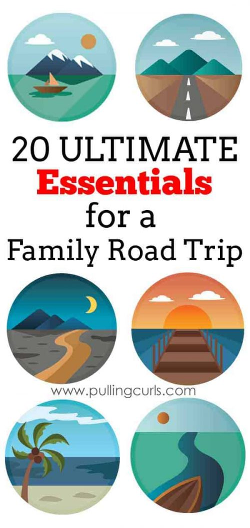This family did a 4,000 mile car trip -- check out the 20 essentials they found for their journey!