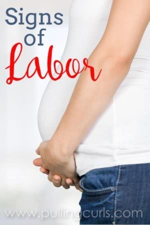 "Are you wondering if you'll ""know"" when the big day comes? These 6 surefire signs of labor will give you an idea of what's to come!"