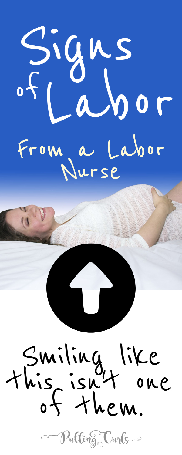 What does it feel like when you go into labor -- what are the signs?  #labor #laborandDelivery #pregnant #pregnancy