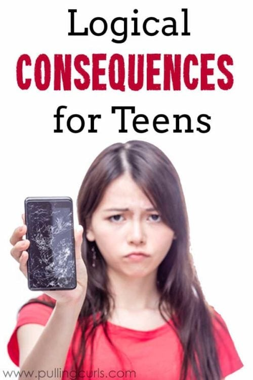 Consequences for teens | Love and Logic | Logical Consequences, creative, ideas, teenagers, for Moms!
