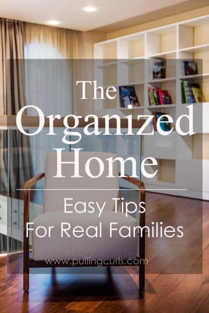 An organized home isn't just books sitting nicely on a shelf. It's so much more. It's a feeling that you long for. The feeling of peace in an organized home, filled with love.