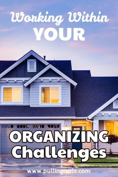 The key to finding a great organizing system is figuring out YOUR personal organizing challenges, and then working around them. Come find out how we did it at our house!