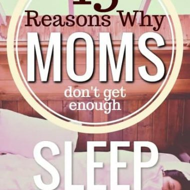 If it's not a newborn, there's plenty of reasons why moms can't get the sleep they so deseperately. Come along on my humorous romp through the sleep-free land of motherhood, and find a possible fix to make your days brighter!
