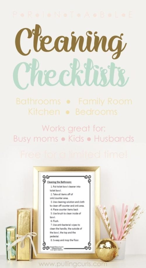 cleaning list | deep | printable | for kids | daily | husband | by room | weekly | for house | detailed | whole house
