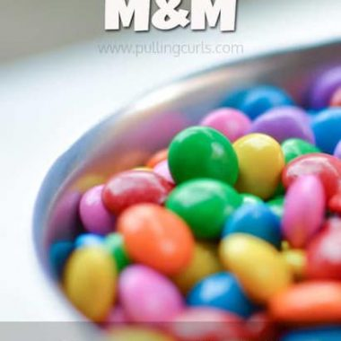 Do you know what an M&M is? This one isn't chocolate covered, but it can chanage your family in a super helpful way. Doesn't melt in your mouth, or your hand, but might melt some hearts.