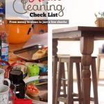House Cleaning List {Printable}