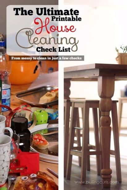 When you walk into a dirty room, and just wonder where to start? This house cleaning checklist is going to give you a printable place to start. Get on top of your home, one check at a time. Also great for kids!