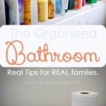 Organize Bathroom: Create a Clean Sanctuary