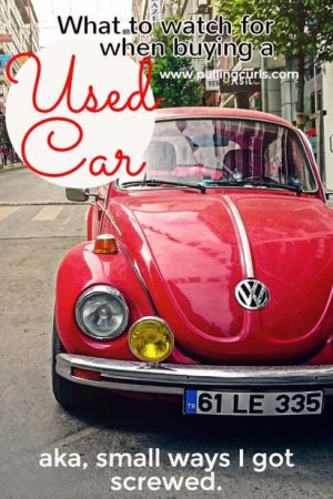 When buying a used car there are a few little areas to watch out for. Sure, you settle on a price, but there's still plenty of ways for them to gouge you!