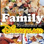 Best Places to Eat in Disneyland for Families