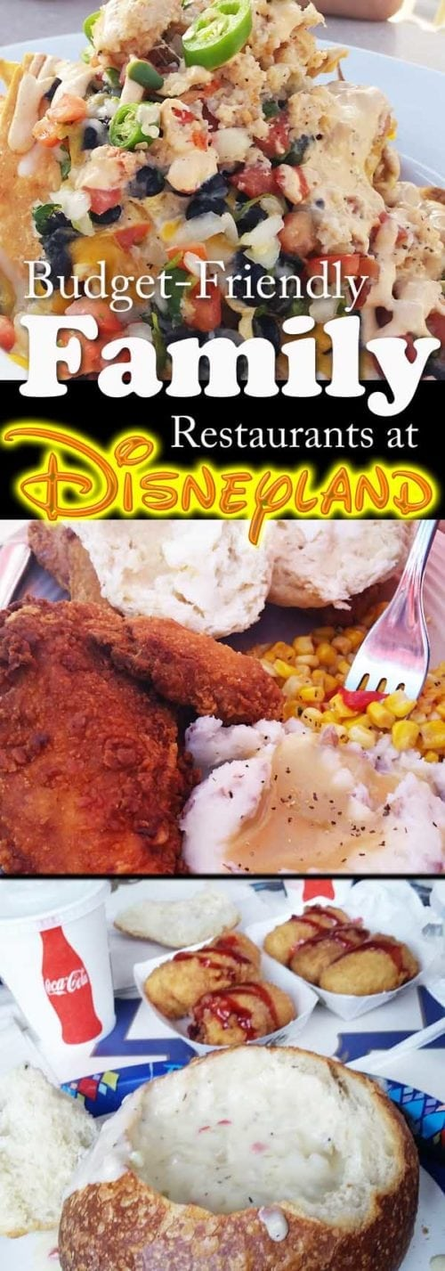 Disneyland has so many restaurant options. It's hard to know which are tasty, and which are just overpriced fast food? This post will tell you the best places to eat at Disneyland. Plus, large portions so you can split and all leave happy!