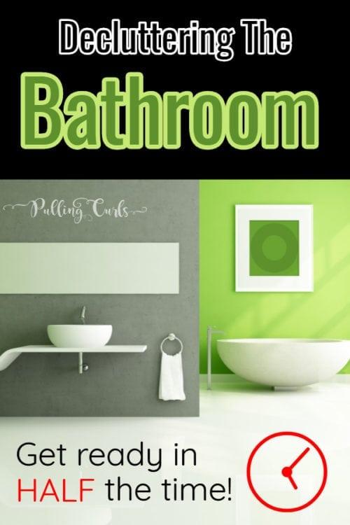 organizing bathroom ideas