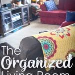 How to Organize Your Living Room: Makes for easy living!