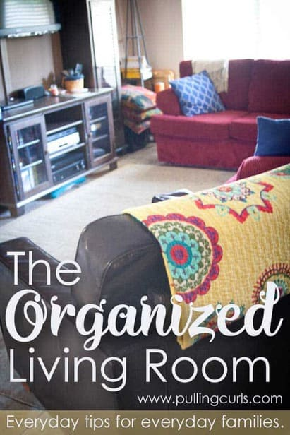 How to organize your living room makes for easy living for Organize small living room