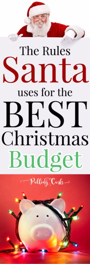 Christmas on a budget for kids / parents / adults/ spending / tips / mom / frugal living /holidays