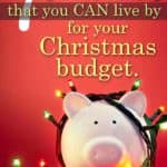 Christmas on a budget:  The rules for family gift purchases
