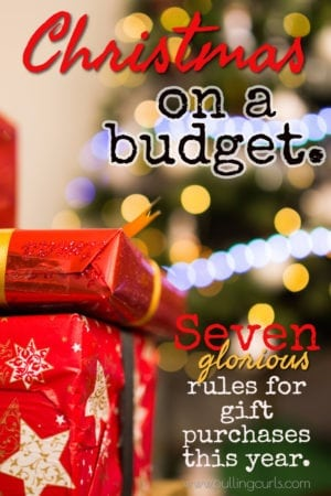 Christmas on a budget | gifts | for kids | families | ideas |
