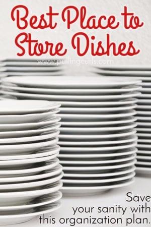 kitchen cabinet organization   cups   plates   bowls   dishes   organizers   dollar store