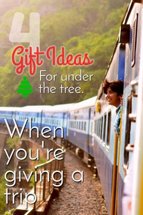 Giving a trip - Clutter-free Christmas, Gifts - Ideas, families - For kids - Christmas experiences - Giving a trip for Christmas