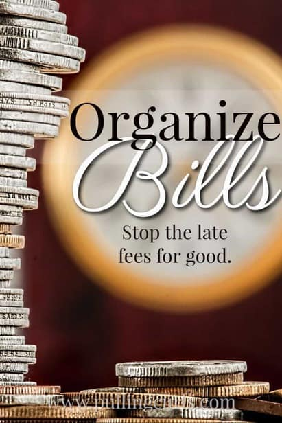 Organize Bills | and mail | monthly | file | paying | ideas | wall | online bill pay via @pullingcurls