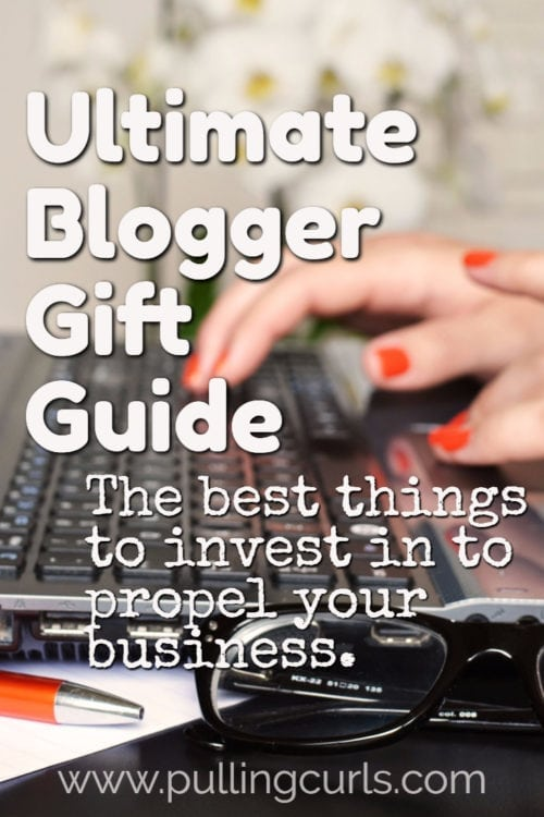 If you or someone you love is a blogger, check out these purchases that can propel their business to the next income bracket!
