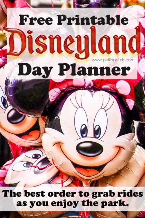 Disneyland printable | rides | planning | day | secrets | best | lines | wait