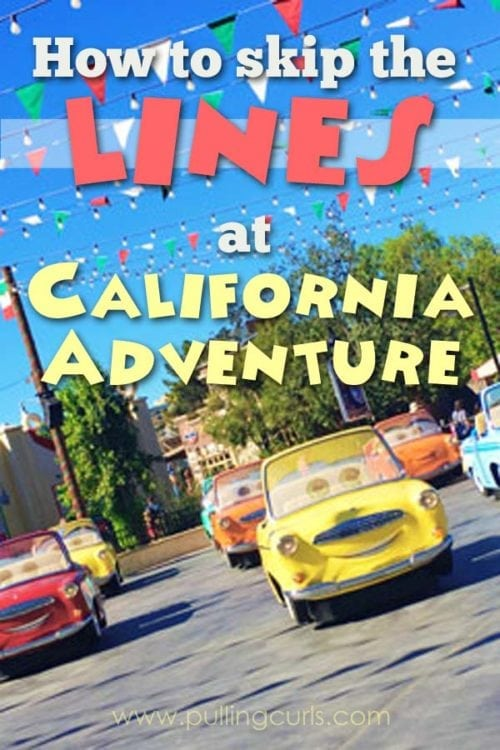 california adventure rides