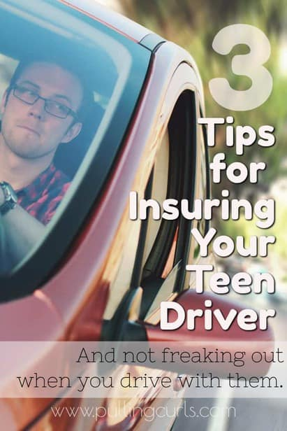 Teen Car Insurance | tips | saving money | advice via @pullingcurls