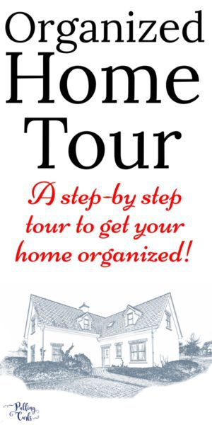 Home organization tour